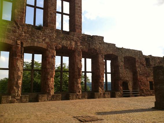 Großer Saal auf Burg Nideggen
