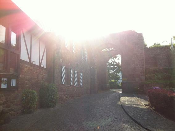 Auf dem Weg zur Burg Nideggen