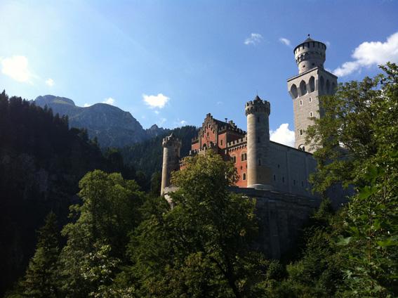 Märchenschloss Neuschwanstein - Pöllatschlucht
