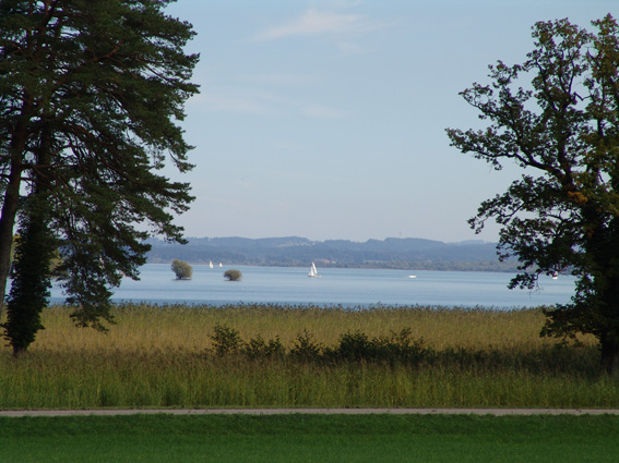 Herreninsel mit Schloss Herrenchiemsee