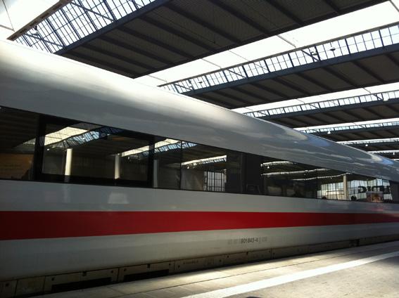 Deutschen Bundesbahn ICE